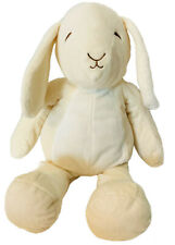 Manhattan Toy Company Plush Huggables Daisy Bunny Pale Yellow Stuffed Animal 15""