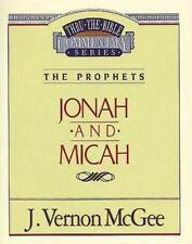 NEW - Jonah / Micah (Thru the Bible) by McGee, J. Vernon