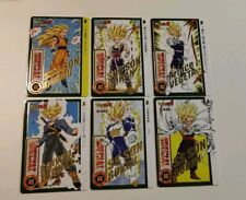 Carte Dragon Ball Special Carddass Dorure hot stamp gold limited