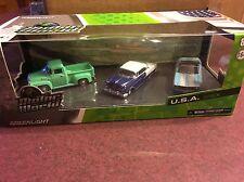 Greenlight MOTOR WORLD  USA  3 piece set