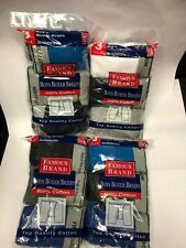 FRUIT OF THE LOOM BOXER BRIEFS BOY  12 PK IN FAMOUS BRAND BAG