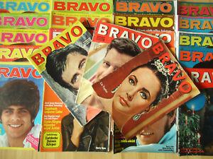 BRAVO - Konvolut 3kg Einzelteile 1963-70 Rolling Stones, Pierre Brice, Beatles..