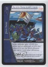 2006 VS System Marvel Heralds of Galactus #MHG-194 Alien Insurrection Card 3v2