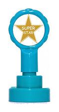 Gold super star auto encreurs prof récompense tampon en caoutchouc-design exclusif