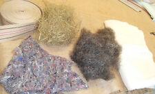Naturpolstermaterial im Paket mit Roßhaar,zum selber polstern - siehe Liste
