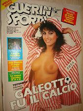 GUERIN SPORTIVO 1986 ANNO LXXIV N°32 (603) TOTONERO GALEOTTO FU IL CALCIO