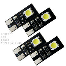 2SMD CANBUS Error Free AGT Car Interior LED Bulbs 194 168 2825 (Pack of 4)