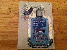 WACKY PACKAGES 2012 ANS9 SILVER FLASH FOIL PUREEL EELS HAND ELECTRIFIER 40 OCEAN