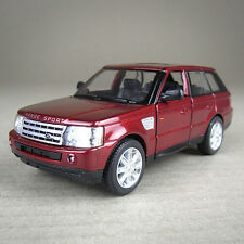 2012 Red Range Rover Sport 4WD Die-Cast Model Car 1:38 Scale Detailed Pull-Back