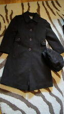 ROTHSCHILD GIRLS 6 BROWN WOOL COAT HAT SET GORGEOUS