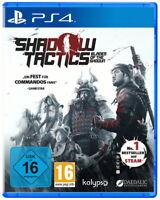 Shadow Tactics - Blades Of The Shogun (Sony PlayStation 4) NEUWARE
