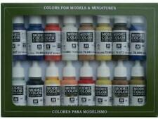Vallejo 17ml x 16 Model Color Paint Set - American Colonial VAL70147
