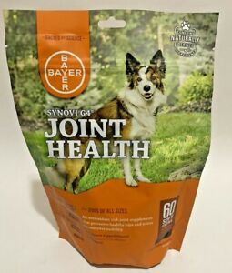 Bayer Synovi G4 Joint Health Soft Chews - 60ct Exp 08/2022