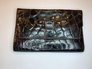 Original Italian Vintage Crocodile Bag