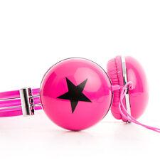 Stars Boys Girls Childrens Kids Over the Head DJ Headphones Headsets iPod PC MP3