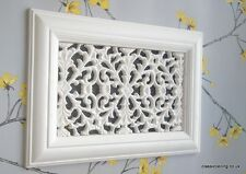 victorian Plaster Air-Vent Cover - 304mm X 216mm X 15mm (floral)