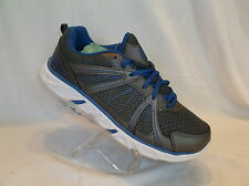 STARTER-PRO GREY WITH BLUE ACCENTS MESH UPPER MENS ATHLETIC SHOE SZ 7.5 NIB