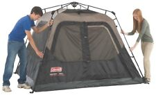 Coleman Instant Set-Up 4-Person Tent 8 x 7 Camping Trip Outdoor Picnic Camp