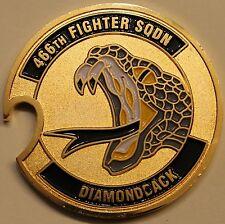 466th Fighter Sq Diamondbacks F-16 Falcon Air Force Challenge Coin