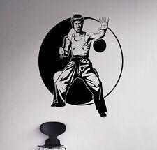 Bruce Lee Wall Vinyl Decal Film Actor Vinyl Sticker Martial Artist Home Decor 17