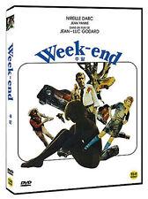 Weekend (1967) Jean-Luc Godard, Mireille Darc / DVD, NEW