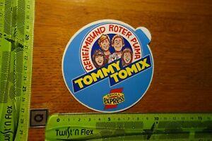 Alter Aufkleber HiFi TV Radio Akustik Schallplatten ARIOLA EXPRESS Tommy Tomix