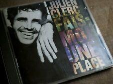 """JULIEN CLERC """"Fais-Moi Une Place"""" CD / VIRGIN - 30725 / 1990"""
