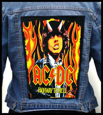 AC/DC - Highway To Hell --- Giant Backpatch Back Patch / Bon Jovi Aerosmith