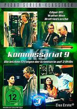 Kommissariat 9 - Vol. 3 - DVD Krimi Serie - die 13 letzten Folgen Pidax Neu Ovp