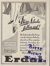 MAINZ, Werbung 1926, Werner & Mertz AG Erdal-Schuh-Pflege-Creme Rotfrosch