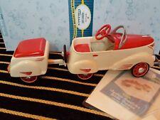 Hallmark Kiddie Car Classics 1940 Custom Roadster with trailer Nib