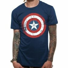 Unbranded Basic Tee Captain America T-Shirts for Men
