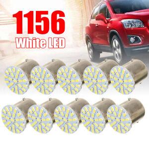 Sale 10x White 1156 BA15S 22SMD LED Light Bulbs Turn Signal Backup Reverse