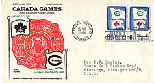 CANADA - CANADA GAMES - 500  FDC - COLE  CACHET - 1969