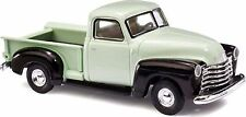 Busch HO Scale 1950 Chevrolet Pickup Truck - Assembled, Assorted 2-Color Schemes