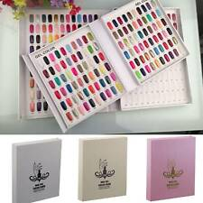 Multicolor Nail Art UV/LED Gel Polish 120 Tips Color Display Card Book Chart