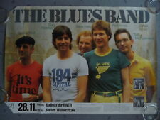 The BLUES BAND * On Tour * 28.11.1980 Aachen AUDIMAX * TOURNEE PLAKAT * POSTER