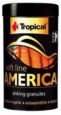 Tropical SOFT LINE America Size M 250ml Sinking granules