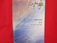 K-on Keion 'Love' Band Score Sheet Music Book