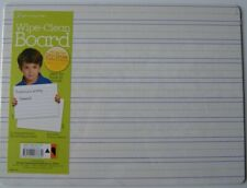 5 Dry Erase Educational Handwriting 9 X 10 Boards Nos Wipe Clean Boards