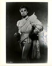 GEORGE LONDON opera bass-baritone signed photo as Don Giovanni