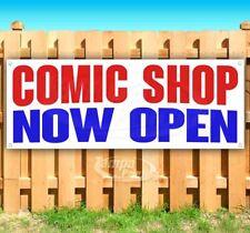 Comic Shop Now Open Advertising Vinyl Banner Flag Sign Many Sizes