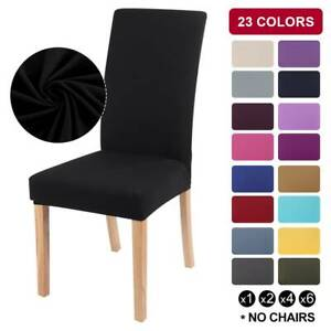 Universal Stretch Elastic Dining Chair Cover Seat Slipcover Party Room Decor US