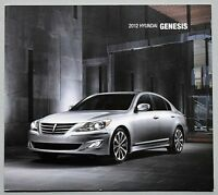 "ORIGINAL 2012 HYUNDAI GENESIS SALES BROCHURE ~ 24 PAGES ~7.75"" X 8.75"" ~ 12HYGEN"