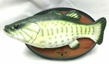 Big Mouth Billy Bass Gemmy 1st Issue Animated Singing Fish Working See Video