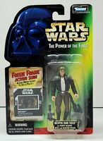 "Star Wars POTF Freeze Frame BESPIN HAN SOLO 3.75"" Figure 1997 Kenner NEW"