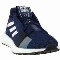 adidas Senseboost Go  Mens Running Sneakers Shoes    - Navy