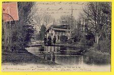 cpa 13 - MARSEILLE (Bouches du Rhône) Le PARC BORELY le PONT sur le LAC Animée