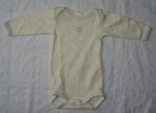 Body blanc cassé pour garçons, Petit Bateau, 3 mois (60 cm)