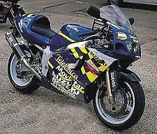 R&G RACING Crash Protector - Suzuki GSXR 600/750 1996-1999 SRAD   ***WHITE***
